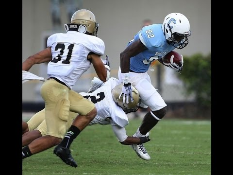Brandon Eakins, Wide Receiver / Kick Returner, The Citadel: Highlights