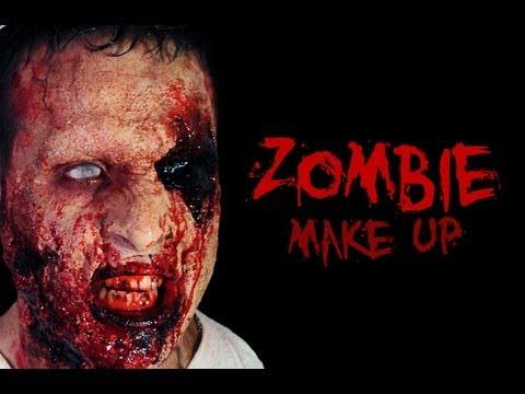 come fare maschera zombie con prodotti professionali