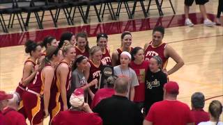 'Elite Eight - Pitt State Women's Basketball (reaction from players+coach Lord)