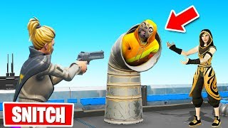 SNITCH to SURVIVE in Fortnite Hide & Seek!