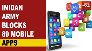 Indian Army blocks 89 Mobile apps including Facebook, Inst..