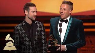 Macklemore & Ryan Lewis Wins Best New Artist | GRAMMYs