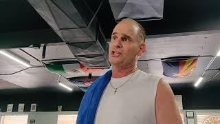 Scottsdale Boxing Club Scottsdale Arizona Post Cardio Workout  Video Testimonial  Review