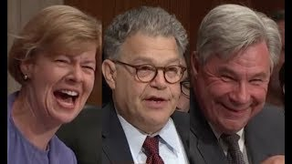 Al Franken CRACKS HILARIOUS JOKE During Senate Hearing & the Room ERUPTS IN LAUGHTER