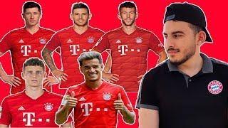 WOw ! Bayern Munich Line Up 2020 I coutinho,lewandowski,perisic