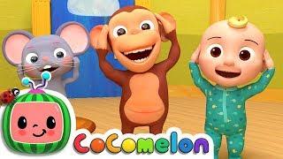 Head Shoulders Knees & Toes   CoCoMelon Nursery Rhymes & Kids Songs