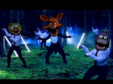 What does the fox say parodia five nights at freddy 180 s