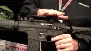 Маркер Tippmann Bravo One Elite Black EGR