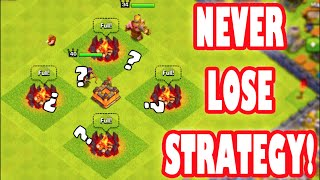 Clash of Clans - NEW NEVER LOSE ATTACK STRATEGY! Best Attack Strategy in Clash of Clans!