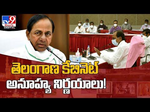 Telangana Cabinet takes some key decisions