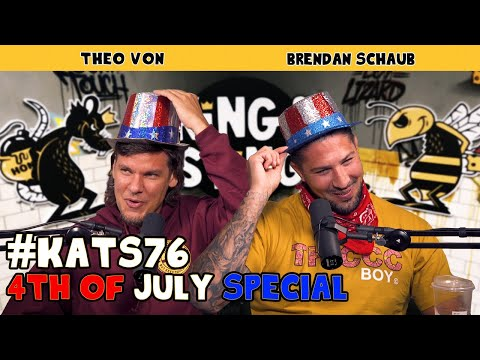 4th of July Special | King and the Sting w/ Theo Von & Brendan Schaub #76