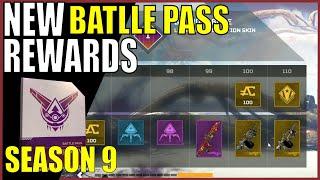 All Legacy Battle Pass Rewards In Apex Legends Season 9 Legacy