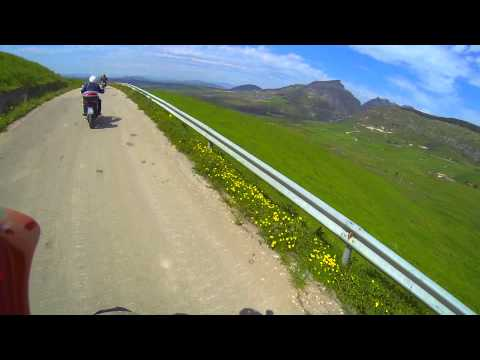 Viaggio in moto in Sicilia on e off road