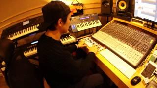 Korean famous producer Super Changddai & CME Xkey midi keyboard