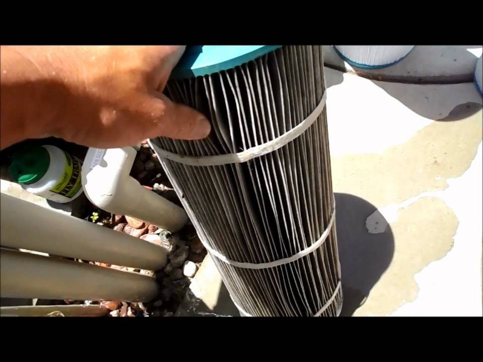 Replacing Your Cartridges In You Pool Filter Youtube