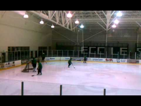 Alpine Cleaning and Restoration's Narwhals Hockey Team- Warmup