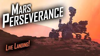 NASA Mars 2020 Perseverance Rover Landing! 🔴 Live