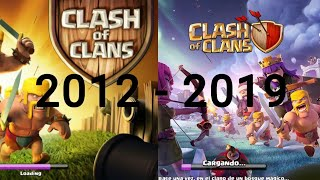 Historia de Clash of Clans 2012-2019 |Clash of Clans