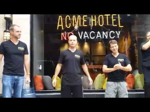 ACME HOTEL Chicago accepts the Ice Bucket Challenge