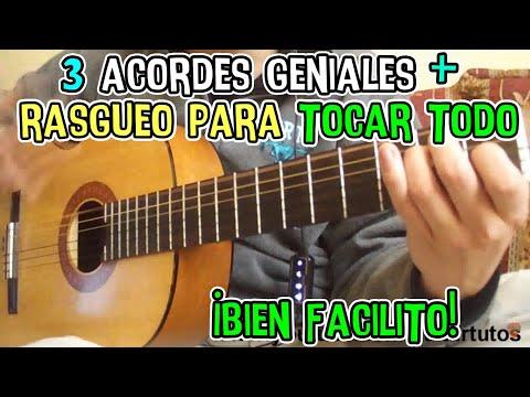 Clases de guitarra: Ritmo numero 1 Rumba