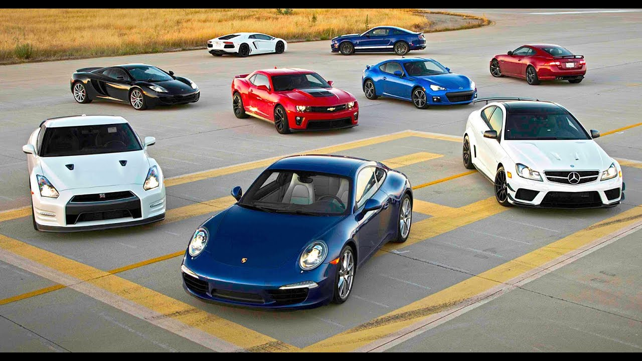 Car Youtube: Picking The 2012 Best Driver's Car!