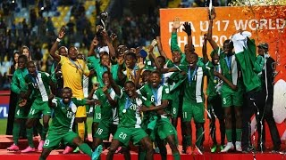 Nigeria u17 squad 2015 Goals and Talents