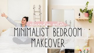 AMAZING MINIMALIST BEDROOM MAKEOVER | BEDROOM IDEAS