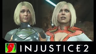 Injustice 2 - Regular Characters Vs Premier Skins All Intro Dialogues