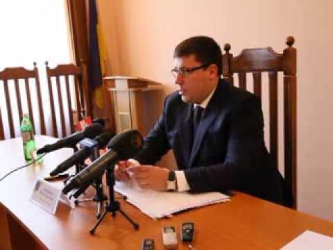 Дебютна прес-конференція прокурора Буковини Павла Павлюка ч. 1
