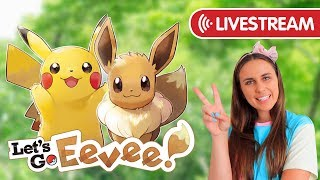 LET'S GO EEVEE! The Adventure Begins!
