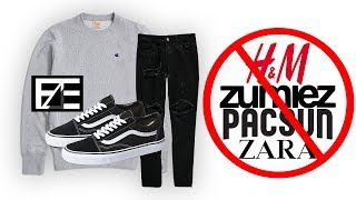 How to PROPERLY STYLE CHEAP STREETWEAR - YouTube