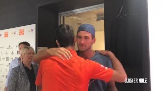 Novak Djokovic Hugged his Brother After Reaching Final - Madrid 2019 (HD)