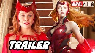 Avengers Wandavision Trailer - Marvel Quicksilver Scene Breakdown and X-Men Easter Eggs