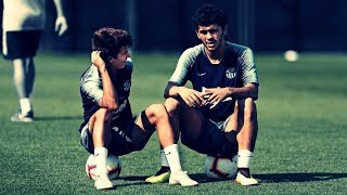 Carles Alena & Riqui Puig ● The Amazing Duo ● Barcelona B ● 2018/19