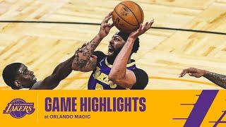 HIGHLIGHTS | Anthony Davis (18 pts, 8 rebs) at Orlando Magic