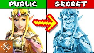 10 DARK SECRETS About Zelda Nintendo Tried To Hide