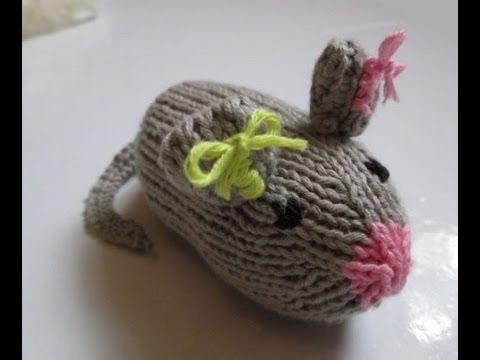 tuto tricot apprendre a tricoter une souris toute mimi. Black Bedroom Furniture Sets. Home Design Ideas