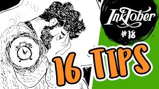 16 Ways to Make an Interesting Character & OC Story Time: Amos - Inktober/OC-tober Day #18
