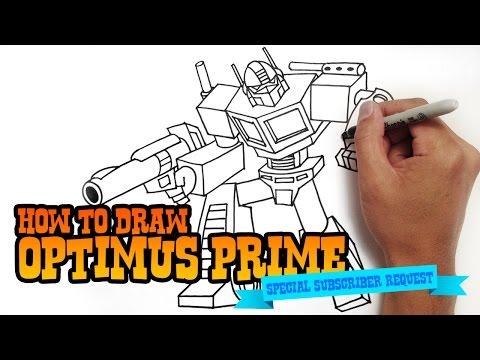 How To Draw Optimus Prime Angry Birds Transformers Videomoviles Com