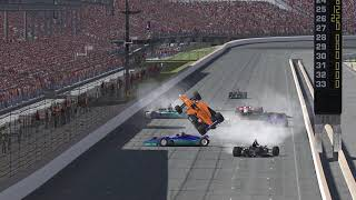IR18 Indy Car, I see People. Jaws: The Revenge