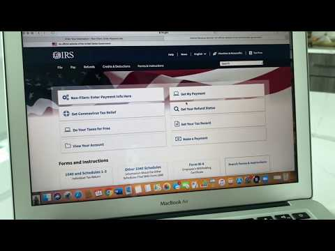 IRS 2020 Stimulus Check Tutorial | Still haven't received your stimulus check? Try this