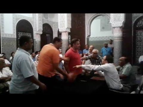 فيديو.. قربالة بين غلاب وخصومه في مؤتمر الاستقلال بالبيضاء