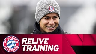 FC Bayern Training ahead of Paris St. Germain | ReLive