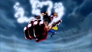 Luffy Gear 4th vs Doflamingo | Finisher - King Kong Gun.