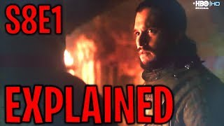 Season 8 Episode 1 Explained ! | Game of Thrones Season 8 Episode 1