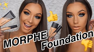 !! MORPHE FLUIDITY FOUNDATION // REVIEW & TESTING !!