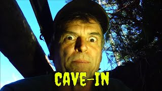 Road Kill Cave: Massive Rock Is A Crushing Machine