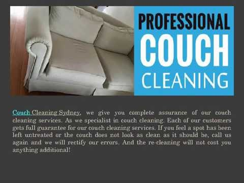 Couch Cleaning Services in Sydney