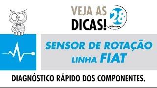 DICA MTE 28 – Sensor de Rotação Linha Fiat