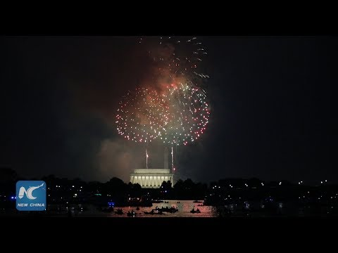 July 4th Fireworks Light Up Washington D.C.